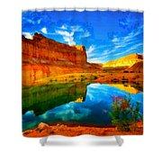 Canyon Glories Shower Curtain