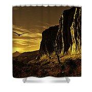 Canyon Hunt Shower Curtain