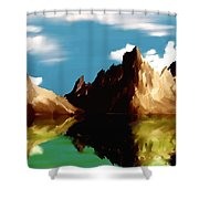 Canyon Lake Shower Curtain