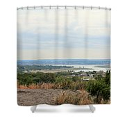 Canyon Lake Shower Curtain