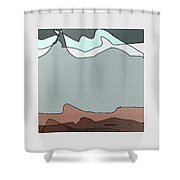 Canyon Land Shower Curtain