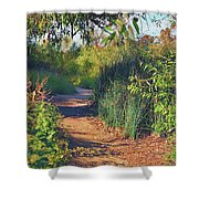 Canyon Path II Shower Curtain