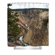 Canyon River Shower Curtain