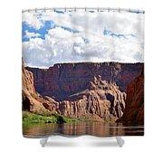 Canyon Rocks Shower Curtain
