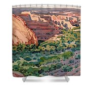 Canyon Shadows Shower Curtain
