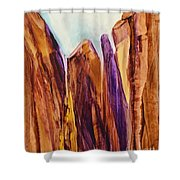 Canyon Splendor Shower Curtain
