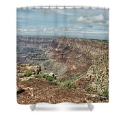 Canyon View From Navajo Point Shower Curtain
