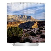 Canyon Walls At Toroweap Shower Curtain