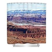 Canyonland Panorama Shower Curtain
