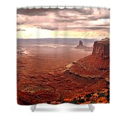 Canyonland Rain Shower Curtain