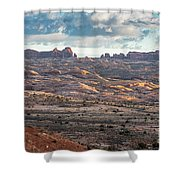 Arches National Park - Morning Shower Curtain