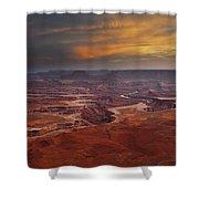 Canyonlands Overlook Utah Shower Curtain