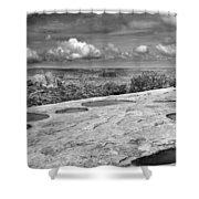 Canyonlands Puddles Shower Curtain