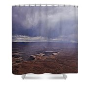 Canyonlands Rain On The Green River Shower Curtain