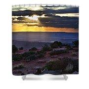 Canyonlands Sunset Shower Curtain