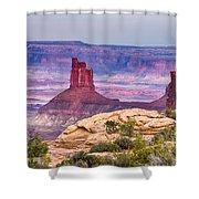 Canyonlands Utah Views Shower Curtain