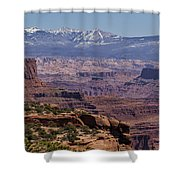 Canyons Of Dead Horse State Park Shower Curtain