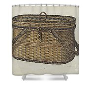 Cap Basket Shower Curtain