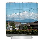 Cap Sante And Chuckanut Shower Curtain