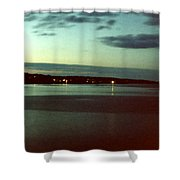 Cape Ann Sunset Shower Curtain
