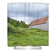 Cape Breton Barn Shower Curtain