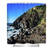 Cape Byron  Shower Curtain