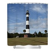 Cape Canaveral Florida Light Shower Curtain