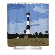 Cape Canaveral Light Shower Curtain
