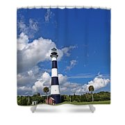 Cape Canaveral Light In Florida Shower Curtain