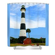 Cape Canaveral Lighthouse Shower Curtain