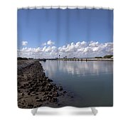 Cape Canaveral Locks Florida Shower Curtain