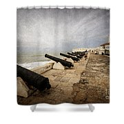 Cape Coast Castle Shower Curtain