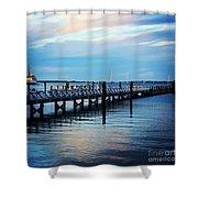 Cape Cod Blue  Shower Curtain