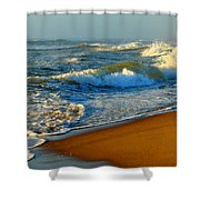 Cape Cod By The Sea Shower Curtain