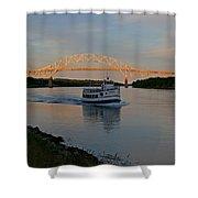 Cape Cod Canal, Massachusetts Shower Curtain