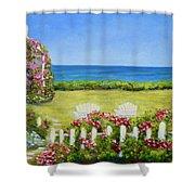 Cape Cod Cottage Shower Curtain