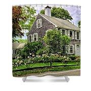 Cape Cod Floral Shower Curtain