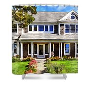 Cape Cod Home Shower Curtain