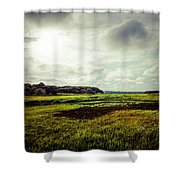 Cape Cod Marsh 1 Shower Curtain
