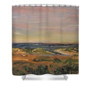 Cape Cod Marsh Shower Curtain