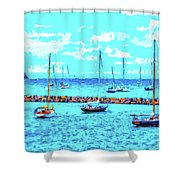 Cape Cod - Sailing Mecca Shower Curtain