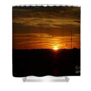 Cape Cod Sunset Shower Curtain