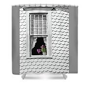 Cape Cod Victorian Lady Shower Curtain