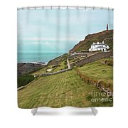 Cape Cornwall Shower Curtain