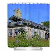 Cape Croker Schoolhouse, Ontario, Canada Shower Curtain