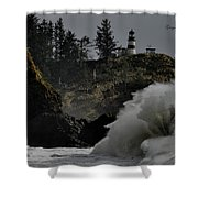 Cape Disappointment Finale Shower Curtain
