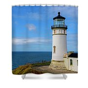 Cape Disappointment Shower Curtain