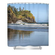 Cape Disappointment - Vertical Shower Curtain