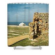 Cape Espichel  Shower Curtain