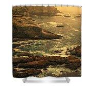 Cape Flattery Misty Morning - Washington Shower Curtain